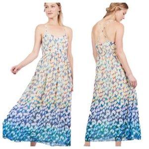 BADGLEY MISCHKA floral maxi dress 6